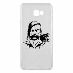 Чехол для Samsung J4 Plus 2018 Лице українського козака - FatLine