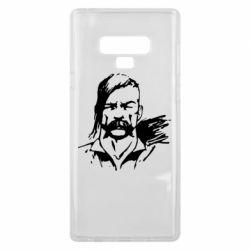 Чехол для Samsung Note 9 Лице українського козака - FatLine