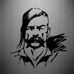 Наклейка Лице українського козака - FatLine