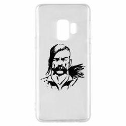Чехол для Samsung S9 Лице українського козака - FatLine