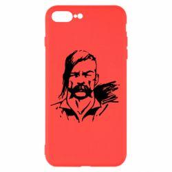 Чехол для iPhone 7 Plus Лице українського козака - FatLine