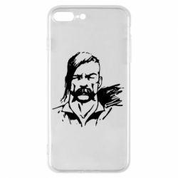 Чехол для iPhone 8 Plus Лице українського козака - FatLine