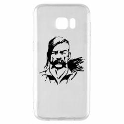 Чехол для Samsung S7 EDGE Лице українського козака - FatLine