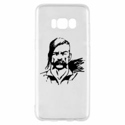 Чехол для Samsung S8 Лице українського козака - FatLine