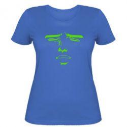 Женская футболка Лицо аниме - FatLine