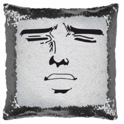 Подушка-хамелеон Лицо аниме