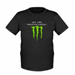 Детская футболка Life For Monster Energy - FatLine