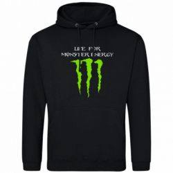 Толстовка Life For Monster Energy