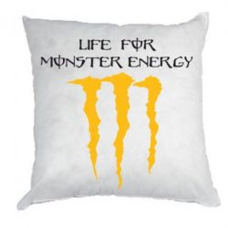 Подушка Life For Monster Energy