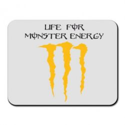 Коврик для мыши Life For Monster Energy - FatLine