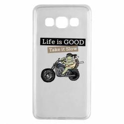 Чохол для Samsung A3 2015 Life is good, take it show