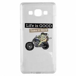 Чохол для Samsung A5 2015 Life is good, take it show