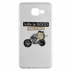 Чохол для Samsung A5 2016 Life is good, take it show