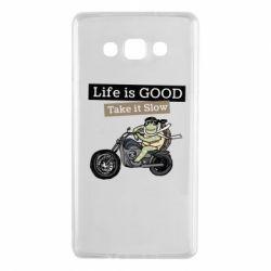 Чохол для Samsung A7 2015 Life is good, take it show