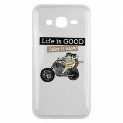 Чохол для Samsung J5 2015 Life is good, take it show