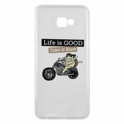 Чохол для Samsung J4 Plus 2018 Life is good, take it show