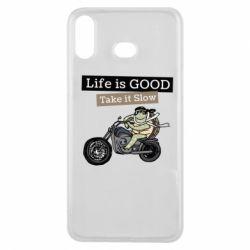 Чохол для Samsung A6s Life is good, take it show