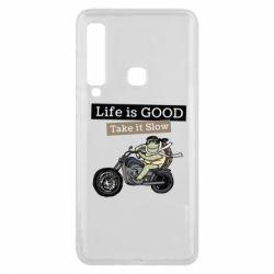 Чохол для Samsung A9 2018 Life is good, take it show