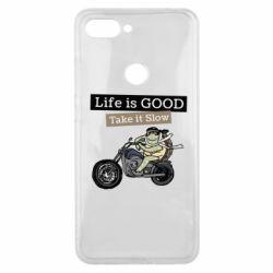 Чохол для Xiaomi Mi8 Lite Life is good, take it show