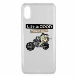 Чохол для Xiaomi Mi8 Pro Life is good, take it show
