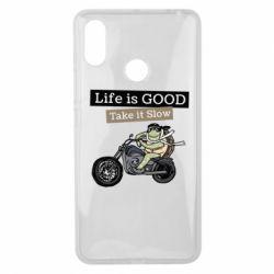 Чохол для Xiaomi Mi Max 3 Life is good, take it show