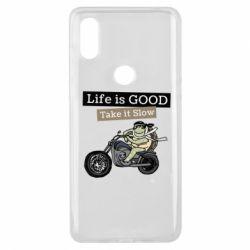 Чохол для Xiaomi Mi Mix 3 Life is good, take it show