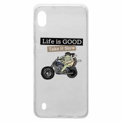 Чохол для Samsung A10 Life is good, take it show