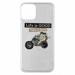 Чохол для iPhone 11 Life is good, take it show