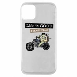 Чохол для iPhone 11 Pro Life is good, take it show