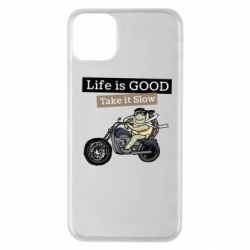Чохол для iPhone 11 Pro Max Life is good, take it show