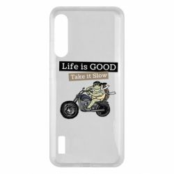 Чохол для Xiaomi Mi A3 Life is good, take it show