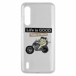 Чохол для Xiaomi Mi9 Lite Life is good, take it show