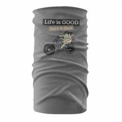Бандана-труба Life is good, take it show