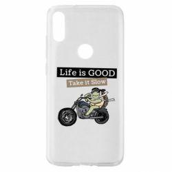 Чохол для Xiaomi Mi Play Life is good, take it show