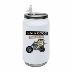 Термобанка 350ml Life is good, take it show