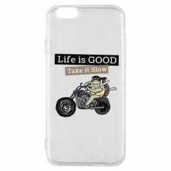 Чохол для iPhone 6/6S Life is good, take it show