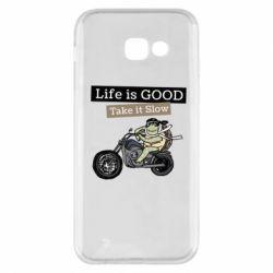 Чохол для Samsung A5 2017 Life is good, take it show