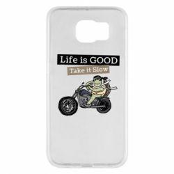 Чохол для Samsung S6 Life is good, take it show