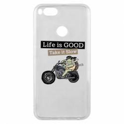 Чохол для Xiaomi Mi A1 Life is good, take it show