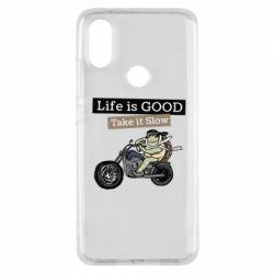 Чохол для Xiaomi Mi A2 Life is good, take it show