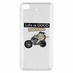 Чохол для Xiaomi Mi 5s Life is good, take it show