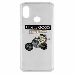Чохол для Xiaomi Mi8 Life is good, take it show