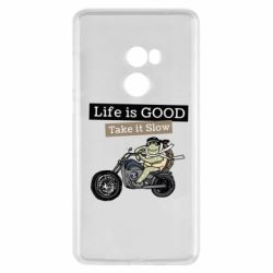 Чохол для Xiaomi Mi Mix 2 Life is good, take it show