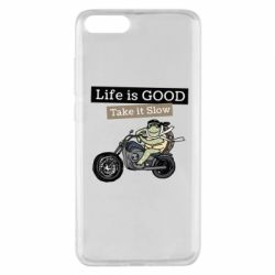 Чохол для Xiaomi Mi Note 3 Life is good, take it show