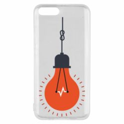 Чехол для Xiaomi Mi6 Light bulb vector
