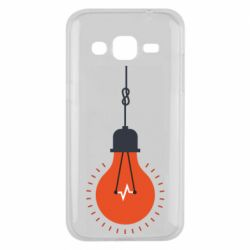 Чехол для Samsung J2 2015 Light bulb vector