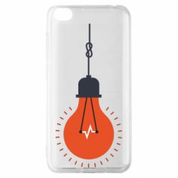 Чехол для Xiaomi Redmi Go Light bulb vector