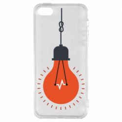 Чехол для iPhone5/5S/SE Light bulb vector