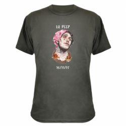 Камуфляжная футболка Lil peep date of death