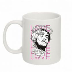 Кружка 320ml Lil Peep: love head